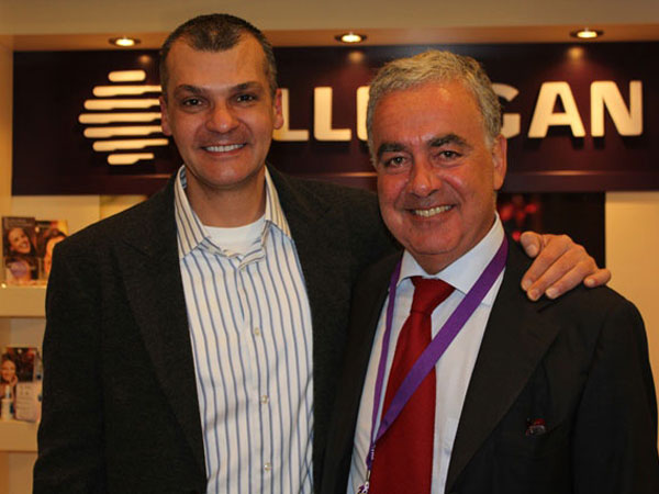 Dr Alek With Professor Massimo Signorini